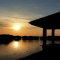 Suasana Sunset Di Pulau Seribu